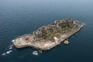 軍艦島の写真素材 [FYI03372213]