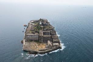 軍艦島の写真素材 [FYI03372216]