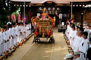 麻賀多神社の例大祭の写真素材 [FYI03372560]