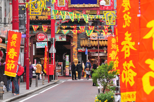 中華街春節の写真素材 [FYI03372566]