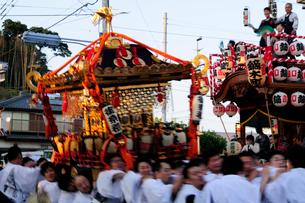 麻賀多神社の例大祭の写真素材 [FYI03372583]