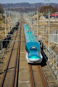 東北新幹線 はやぶさの写真素材 [FYI03372708]