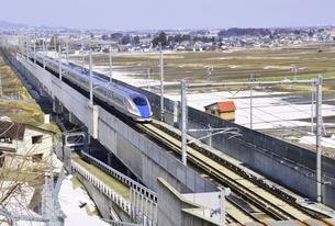 北陸新幹線の写真素材 [FYI03372982]