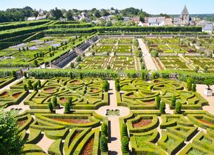ヴィランドリー城庭園の写真素材 [FYI03373073]