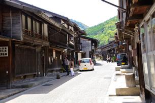 木曽奈良井宿の写真素材 [FYI03373178]