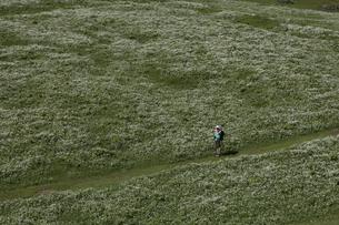 グリュッチュアルプ駅~アルメントフーベルのハイキングコースの写真素材 [FYI03373242]