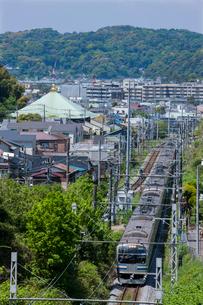 横須賀線の写真素材 [FYI03373920]