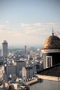 山手北野異人館より神戸港眺望の写真素材 [FYI03374416]