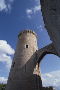 ベイベール城の塔 マヨルカ島 スペインの写真素材 [FYI03374960]