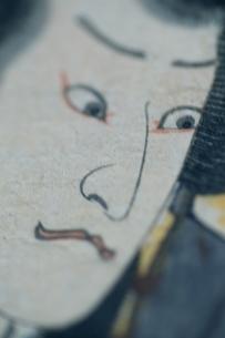 男性の顔  三代豊国の作品のイラスト素材 [FYI03374981]