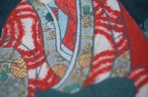 着物を着た人物  三代豊国の作品のイラスト素材 [FYI03374990]