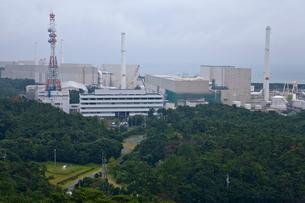 中部電力浜岡原子力発電所の写真素材 [FYI03375015]