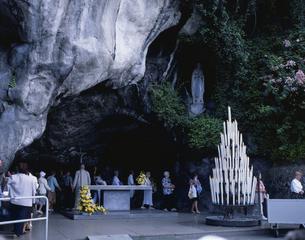 マサビエールの洞窟 ルルド ピレネー地方 フランスの写真素材 [FYI03375070]