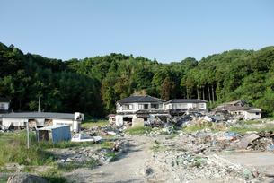震災から約半年後の大浜の写真素材 [FYI03375104]