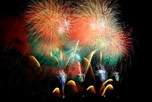 東松島夏祭り花火大会の写真素材 [FYI03375154]
