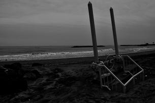 菖蒲田浜海岸にての写真素材 [FYI03375193]