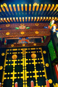 瑞鳳殿 涅槃門の写真素材 [FYI03375912]