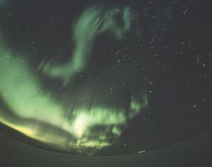 オーロラ フォートマクマレー カナダの写真素材 [FYI03376027]