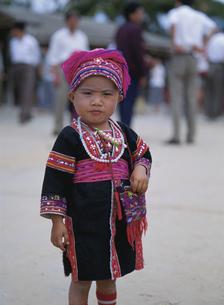 中国 苗族の子供の写真素材 [FYI03376076]