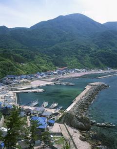 加茂漁港の写真素材 [FYI03376324]