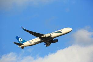 ジェット機 ニュージランド航空の写真素材 [FYI03376350]