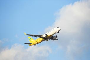 ジェット機 バニラ航空の写真素材 [FYI03376353]