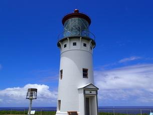 カウアイ島のキラウェア灯台の写真素材 [FYI03376438]