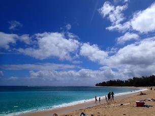 カウアイ島のハエナビーチの写真素材 [FYI03376455]