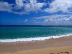 カウアイ島のハエナビーチの写真素材 [FYI03376486]