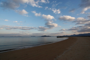 瀬戸内海 海と空の写真素材 [FYI03376578]