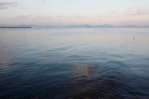 瀬戸内海 海と空の写真素材 [FYI03376609]