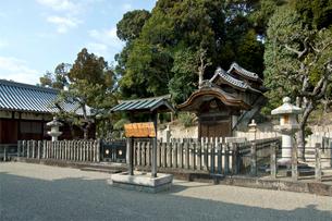 叡福寺・聖徳太子廟の写真素材 [FYI03376688]