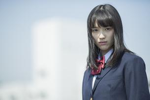 日本人の女子高生の写真素材 [FYI03376823]