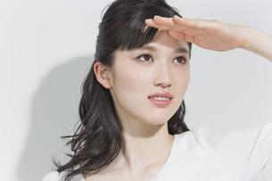 日本人女性のビューティーイメージの写真素材 [FYI03376865]