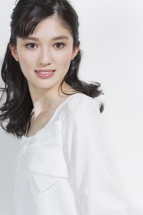 日本人女性のビューティーイメージの写真素材 [FYI03376866]