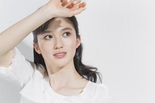 日本人女性のビューティーイメージの写真素材 [FYI03376885]