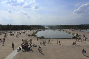 ベルサイユ宮殿の庭園の写真素材 [FYI03377386]