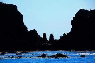深浦町の風合瀬海岸の写真素材 [FYI03377393]
