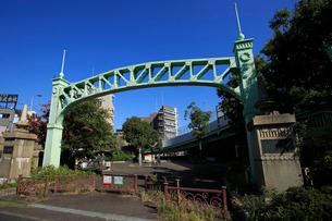 宮本台緑地の旧六郷橋の写真素材 [FYI03377395]