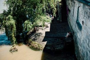 ロワイヤル橋からのセーヌ川の写真素材 [FYI03377547]