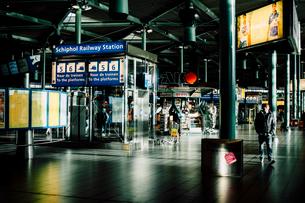 スキポール空港の写真素材 [FYI03377586]