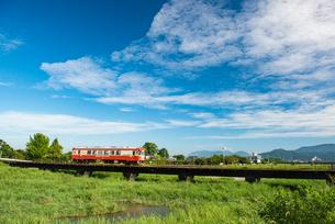 甘木鉄道1の写真素材 [FYI03377656]