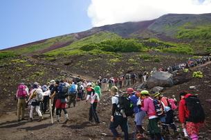 富士登山の写真素材 [FYI03377749]