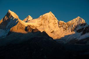 ワスカラン国立公園のワンドイ峰の写真素材 [FYI03377768]
