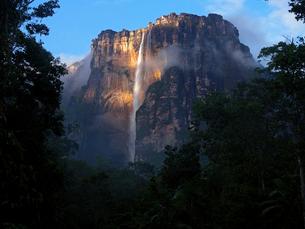 世界最大落差の滝・エンジェルフォールの写真素材 [FYI03377814]