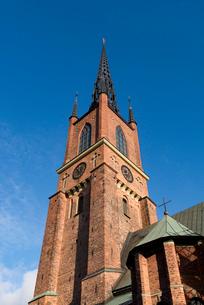 リッダーホルム教会の写真素材 [FYI03377998]