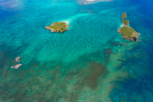 沖縄 辺野古沖 平島と長島の写真素材 [FYI03378202]