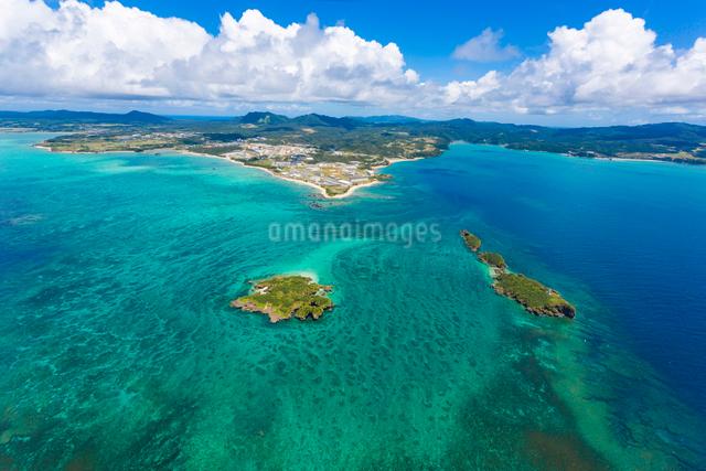 沖縄 辺野古沖 平島と長島の写真素材 [FYI03378231]