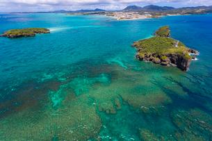 沖縄 辺野古崎と平島・長島の写真素材 [FYI03378234]
