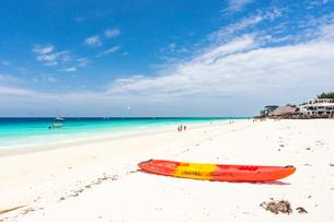 ザンジバルのビーチ、タンザニアの写真素材 [FYI03378274]